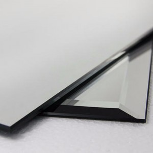 MIRROR DE STICLĂ DE ALUMINIU BEVELED FRAMELESS